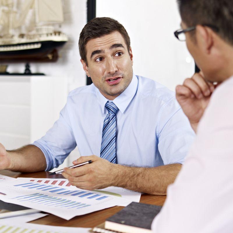 Konflikte zwischen Vorgesetzten und Mitarbeitenden.